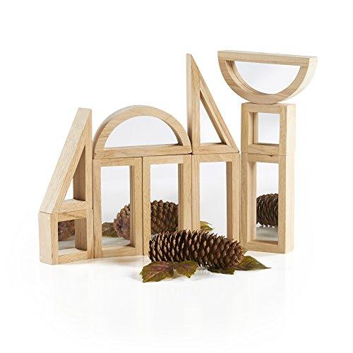 Guidecraft Mirror Blocks Set (10 Piece) - 1