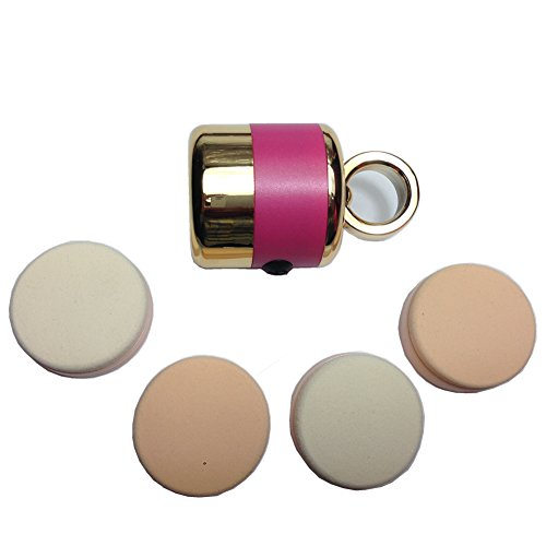 Belle® Auto Electrical Powder Make-Up Puff Vibrating Foundation Applicator, Enables Smooth And Even Coverage Of Makeup, The Best Gift Idea