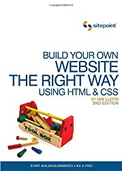 Book cover for Build Your Own Website The Right Way Using HTML & CSS