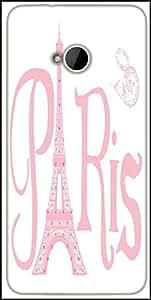 Snoogg Paris Eiffel A 2500 Designer Protective Back Case Cover For HTC M7