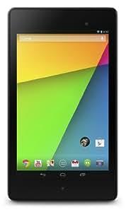 Black ASUS Google 7-inch Nexus 7C Tablet (S4 Pro 1.5GHz Processor, 2GB RAM, 32GB, Android 4.3, 3G, Wi-Fi, Bluetooth, Micro USB, Webcam)