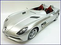 RASTAR◇ベンツSLRマクラーレンZ199スターリングモス正規認証車1/12ラジコンカー/シルバー