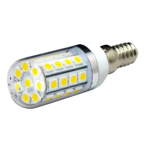Durable Water Resistant Dimmable E14 7W 5050 Smd 36 Led Light Corn Bulb Lamp W/ Transparent Plastic Cover