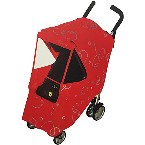 Hippo Collection Universal Stroller Weather Shield - Red, One Size