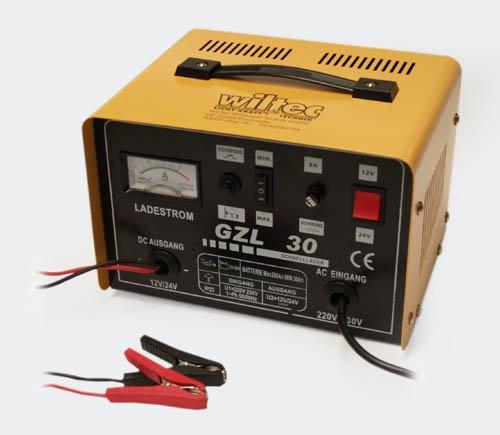WilTec Batterieladegerät Batterie Ladegerät