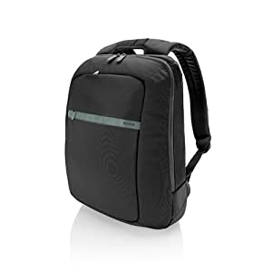 Belkin Core Laptop Backpack (Pitch Black/Soft Gray) fits up to 15.6-Inch laptops