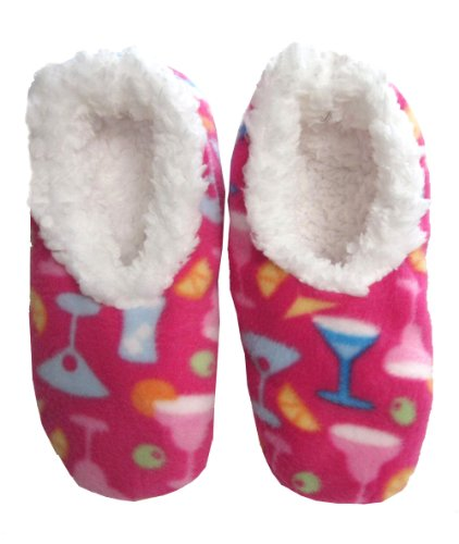 Cheap Snoozies Cocktail Fleece Lined Footies (B005JTNDCY)