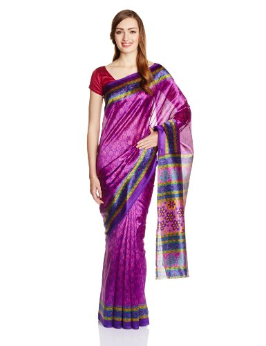 Boondh Cotton Saree with Blouse Piece