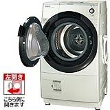 シャープ 【ヒートポンプ乾燥機能付き】【左開き】 ドラム式洗濯乾燥機 (洗濯9.0kg/乾燥6.0kg) ES-Z110-WL ホワイト系