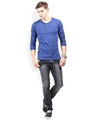 Thisrupt Black Color Cotton Slim Fit Jeans