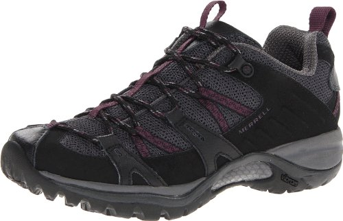 Merrell Women's Siren Sport 2 Hiking Shoe,Black/Purple,9 M US