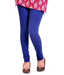 Lal Chhadi Cotton Blue Leggings