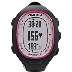 Garmin FR70 Fitness Watch with Heart-Rate Monitor (Pink) by Garmin