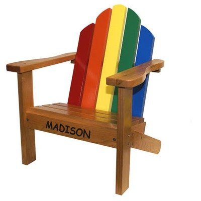 Personalized Kid's Adirondack Chair