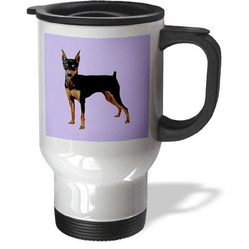 3Drose Miniature Pinscher Travel Mug, 14-Ounce