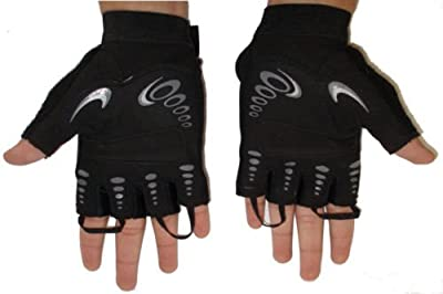 Weightlifting gloves body building gym Gloves MMA -Large by Max Sports Ltd