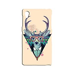 BLUEDIO Designer 3D Printed Back case cover for Sony Xperia Z1 - G0507