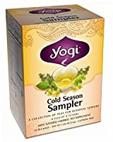 Yogi Tea Herbal Teas Cold Season Sampler - 16 tea bags