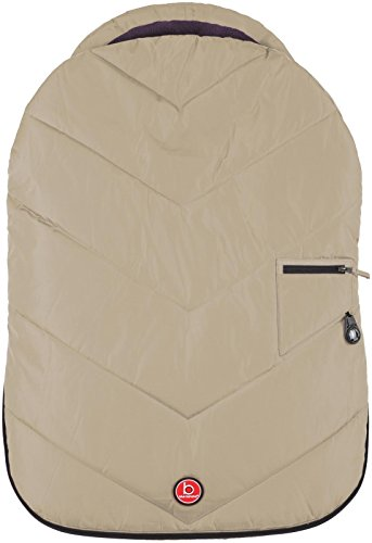 Blue Banana Urban Pod Car Seat Cover - Taupe - 1