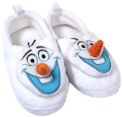 Disney Store Olaf Plush Slippers