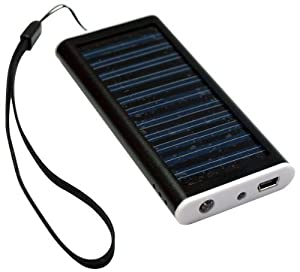 Portable Solar Charger For Nokia Mp3 Mp4 Player Mobile Phone Pda  Built In 1350mah Polymer Battery
