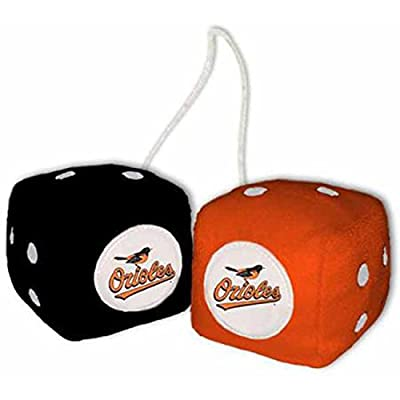 MLB Plush Team Fuzzy Dice