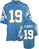 Reebok Lance Alworth San Diego Chargers Premier Throwback NFL Jersey (S)