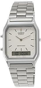 Casio AQ-230A-7DMQ Mens Combi Bracelet Watch
