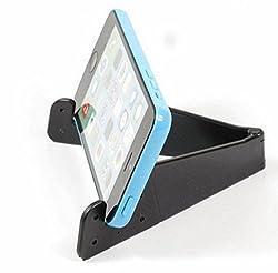FCS Mini Universal Adjustable Fold able Cell Phone Tablet Desk Stand Holder Smartphone Mobile Phone Bracket for Smart Phones and Tablets