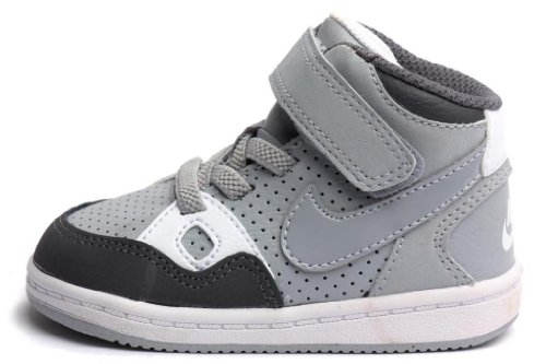 Nike toddler Son Of Force Mid (TD) Dark Grey/Dark Grey-Distance Red-White 615162-020 7