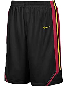 Southern Cal Trojans 2008 09 College Black 12? Inseam Embroidered Player Replica... by Nike