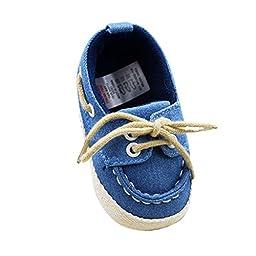 Weixinbuy Infant Baby Boy\'s Lace Up Soft Bottom Prewalker Sneaker S