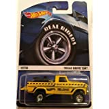 HOT WHEELS 2015 REAL RIDERS HERITAGE #17/18 TEXAS DRIVE'EM YELLOW
