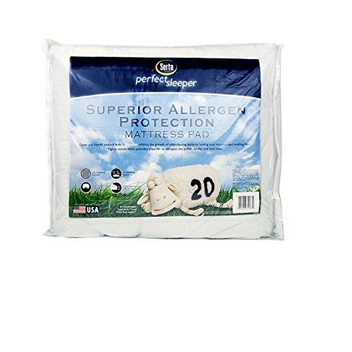 Serta Superior Allergen Protection Mattress Pad - Queen front-1040940