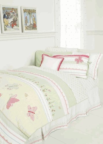 Green Gingham Check Twin Duvet Cover front-926805