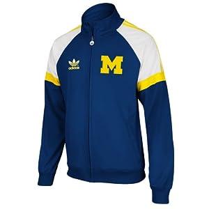 NCAA Michigan Wolverines Mens Originals BTC Track Jacket by adidas