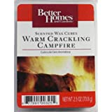 Better Homes and Gardens Warm Crackling Campfire Scented Wax Cubes