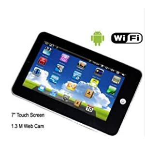 7 inch Epad with android 2.2 (tablet pc) includes WiFi 720p Video 256MB Resistive Touch Screen (Requires Stylus) External 3G RJ45 Flash 10.1 $70.99