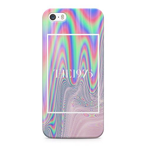 The 1975 Colorful Paint Rad Tye Dye Soap Film Trippy Holographic Hard Plastic Snap-On Case Cover For iPhone 5 and iPhone 5s (Tye Dye Cases For Iphone 5s compare prices)