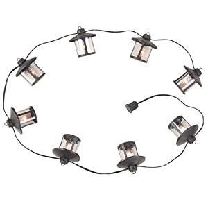Click to buy Royce Lighting 8-Light Outdoor String-Light, Oil Rubbed Bronze from Amazon!