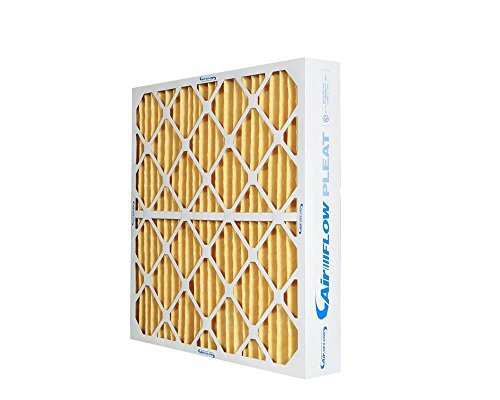 Heating, Cooling 20x20x4 MERV 11 Pleated Home HVAC Furnace Filters A/C (6 pack- A 3 year supply)