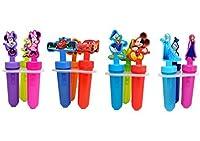 Disney Popsicle Maker Molds, Styles Vary, 2-Pack (6 Popsicle Molds in Total)