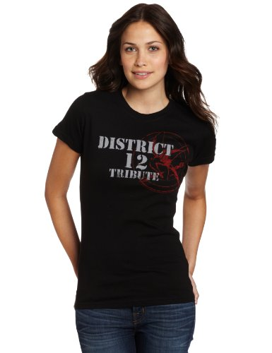 FEA Juniors Hunger Games Book Tribute Spray Tissue Tee