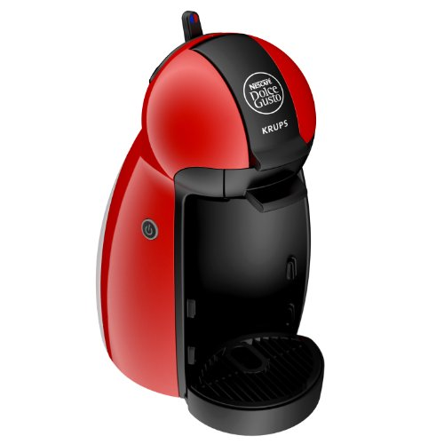 NESCAFÉ Dolce Gusto Piccolo by Krups KP100640 Coffee Machine, Red, 15 Bar Pressure Pump