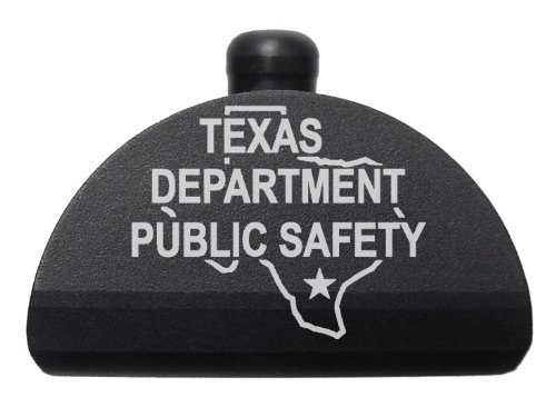 Police Tx Dps State Ol Engraved Ndz-P17 Aluminum Grip Frame Plug For Glock 17 19 20 21 22 23 24 31 32 34 35 37 38 Gen 1-3 By Ndz Performance