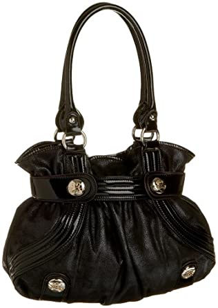 KATHY Van Zeeland Delicious Belt Shopper,Black,one size