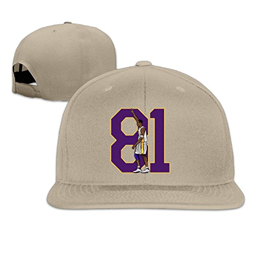 KOBE 81 Points baseball cap hip hop hat LightGrey (5 colors) (Lakers Cheerleading Outfit)