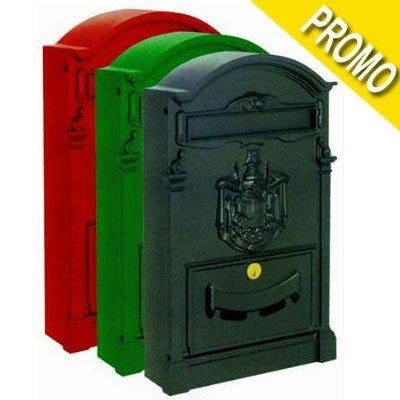 Blinky 27290-10 Residencia Cassetta per Lettere, 26x9x41, Rosso