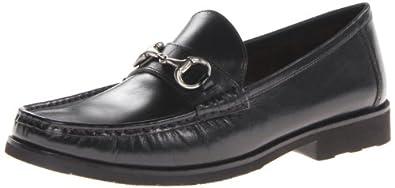 Florsheim Men's Tuscany Bit Slip-On Loafer,Black Smooth,7 D US