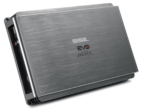 Ssl Evo2200.2 Evo 2200-Watts Full Range Class A/B 2 Channel 2-8 Ohm Stable Amplifier With Remote Subwoofer Level Control